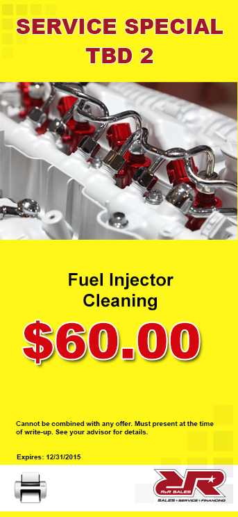 fuel injector coupon