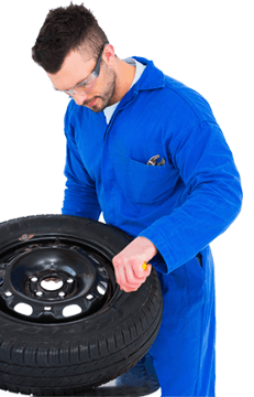 tire repair man